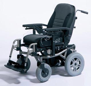 Ogromny Wózek inwalidzki elektryczny w ofercie firmy Acumobil JZ64