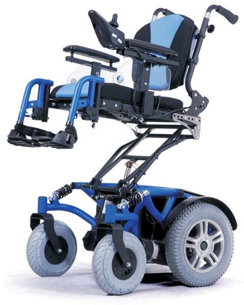 wózek z elektryczną windą fotela